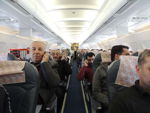 Nar Mobile presents its in-flight mobile communication services to journalists (PHOTO)
