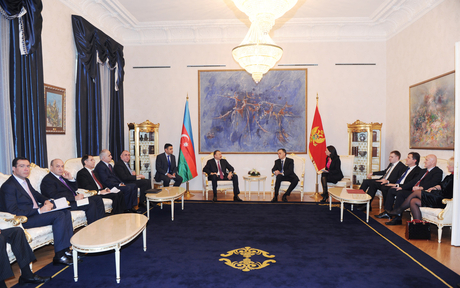 Azerbaijani, Montenegrin presidents have expanded meeting