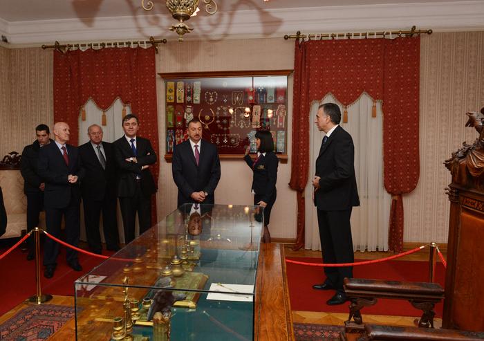 Azerbaijani President visits King Nikola's Museum in Cetinje, Montenegro (PHOTO)