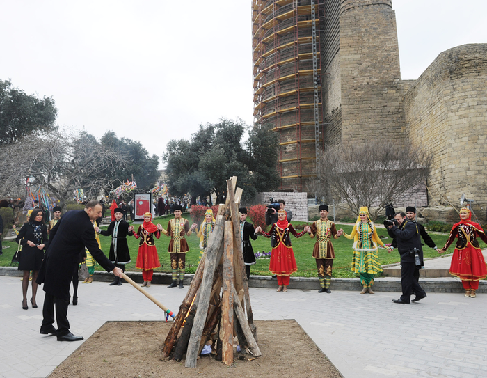Azerbaijan's President and his spouse attend nationwide festivities on occasion of Novruz holiday (PHOTO)