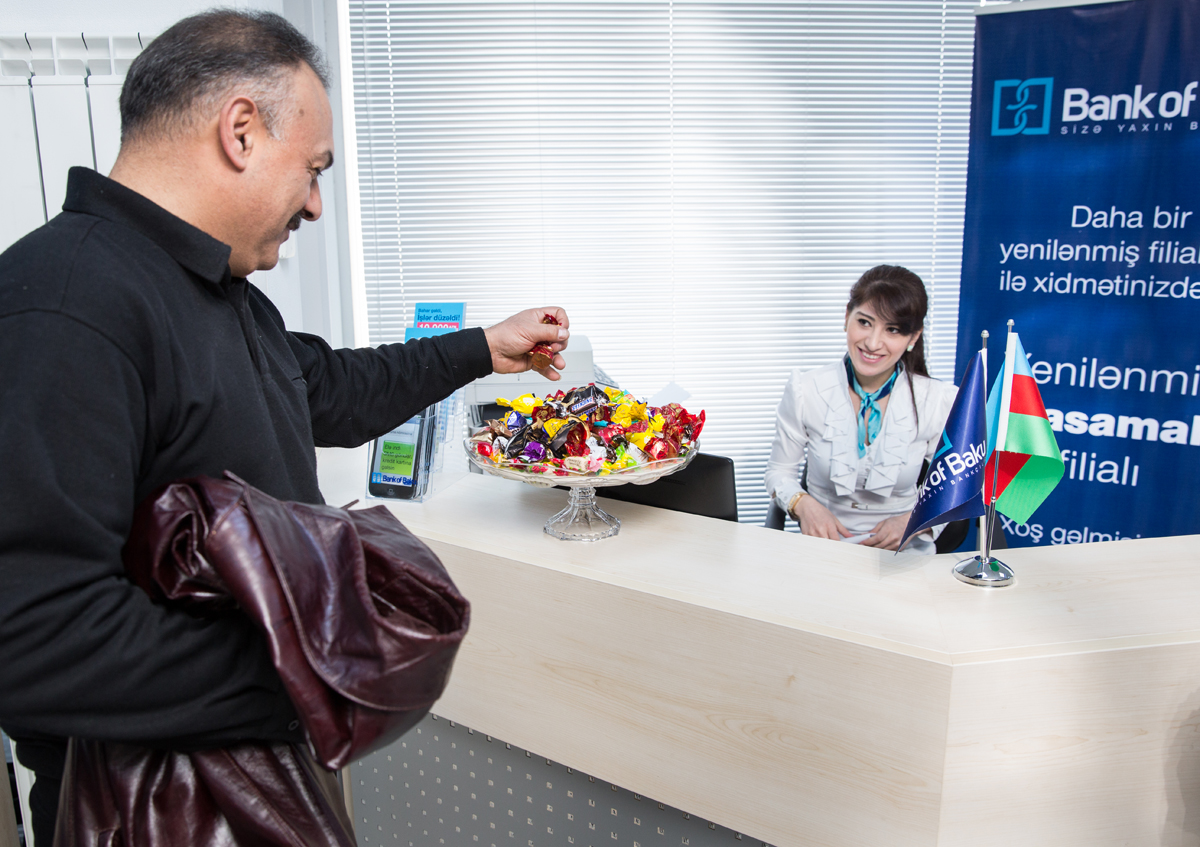 "New ""Yasamal"" branch of ""Bank of Baku"" - Future arrives today!"