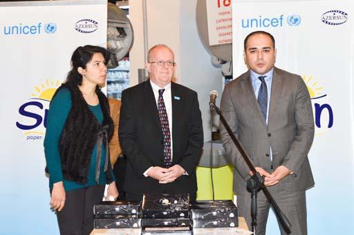 """""""Azərsun Holdinq"""" və UNICEF-in imzaladığı memorandum çərçivəsində sosial layihəyə start verilib (FOTO)"""