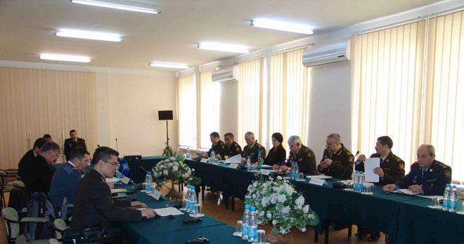 NATO eskpertləri ilə Azərbaycan Müdafiə Nazirliyi arasında işçi görüşü başlayıb