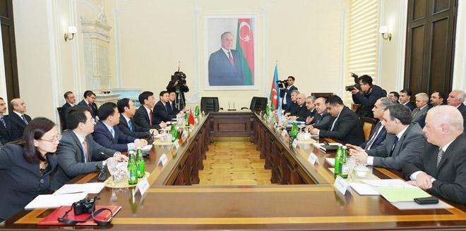 Azərbaycanın Baş Prokurorluğu ilə Çinin Ali Xalq Prokurorluğu arasında anlaşma memorandumu imzalanıb (FOTO)