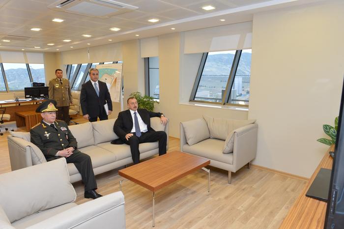 Prezident İlham Əliyev Mingəçevir Su Anbarının təhlükəsizlik sistemi ilə tanış olub (FOTO)