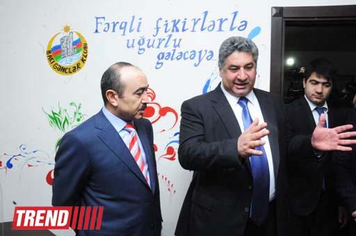 Gənclər Evinin açılış mərasimi keçirilib (FOTO)