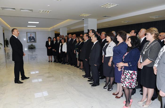 Prezident İlham Əliyev: 1993-cü ildən bu günə qədər Azərbaycan inkişaf yolu ilə gedir  (FOTO)