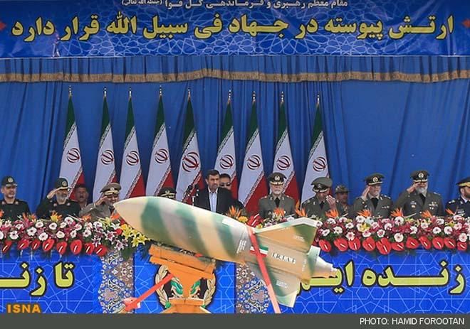 İranda bu gün keçirilən hərbi paradda yeni silah növləri təqdim edilib (ƏLAVƏ OLUNUB) (VİDEO)(FOTO)