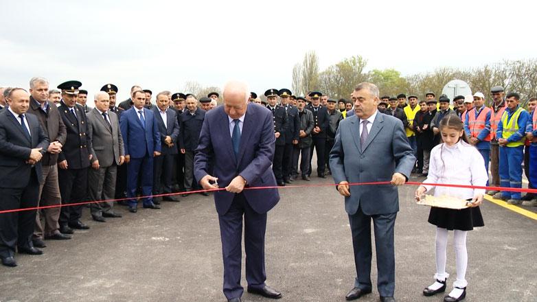 Azərbaycanda yeni körpü istifadəyə verilib (FOTO)