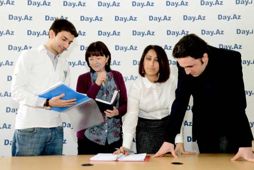 """Day.Az Media Şirkəti """"Uğur"""" Milli Mükafatına layiq görülüb (FOTO)"""
