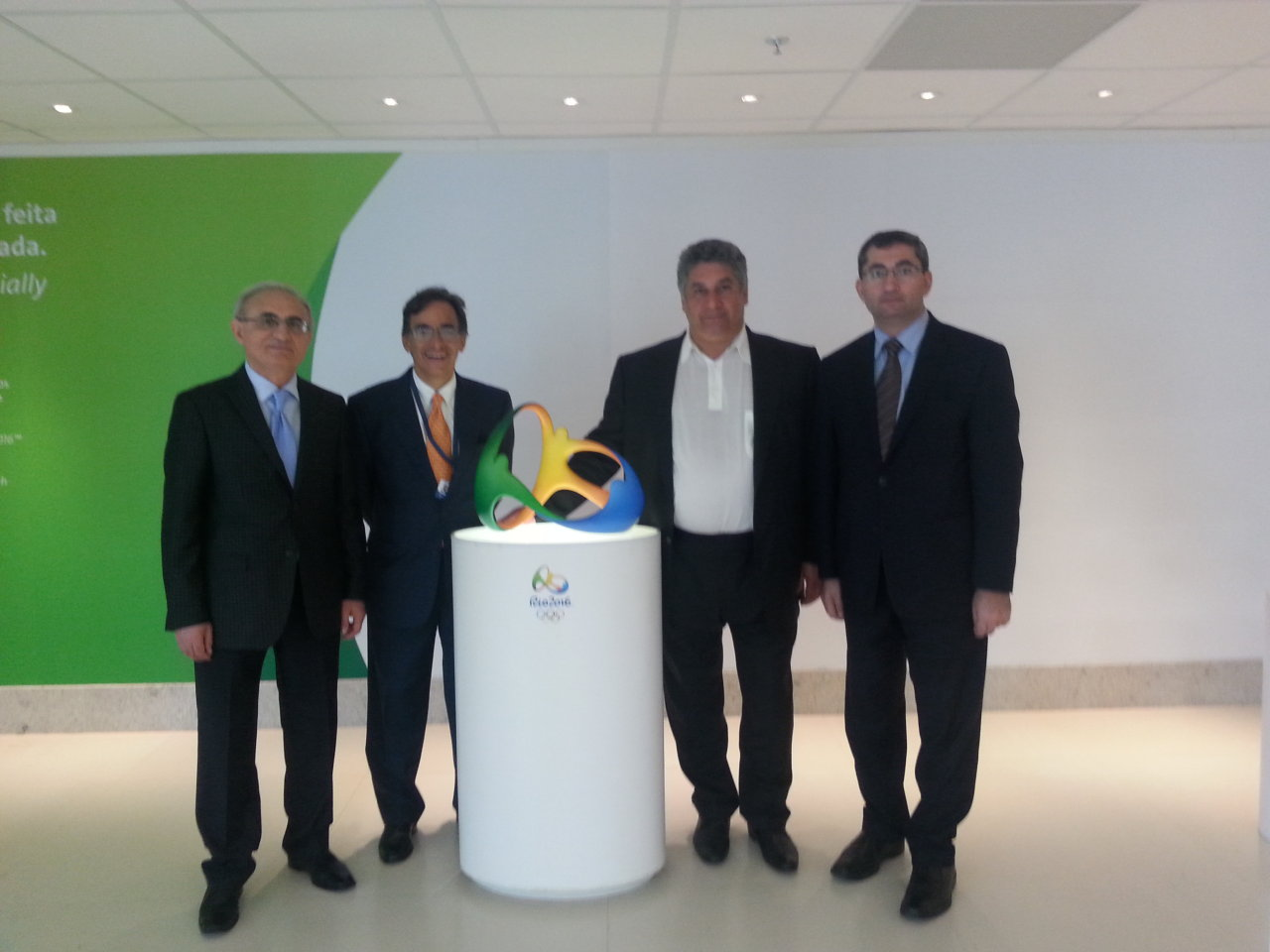 Azərbaycan Olimpiadanın təşkilində Braziliya təcrübəsindən istifadə edəcək (FOTO)