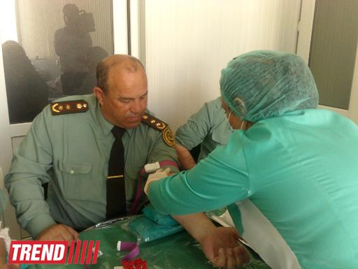 Минюст Азербайджана проводит акцию по сдаче донорской крови (ФОТО)