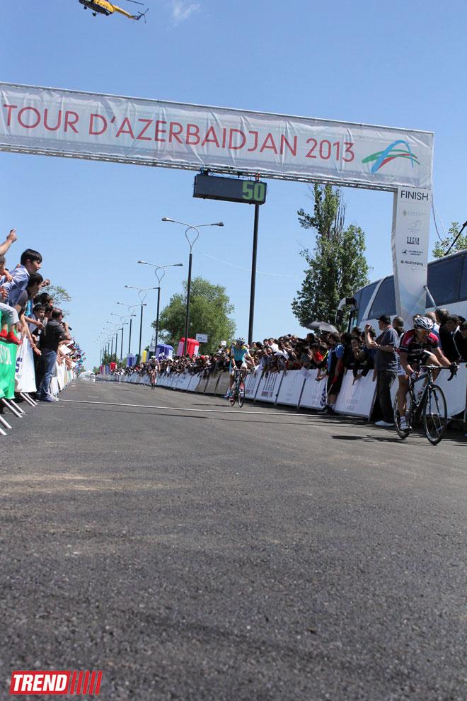 Спортсмен турецкой команды стал победителем II этапа международного велотурнира в Азербайджане  (ФОТО)
