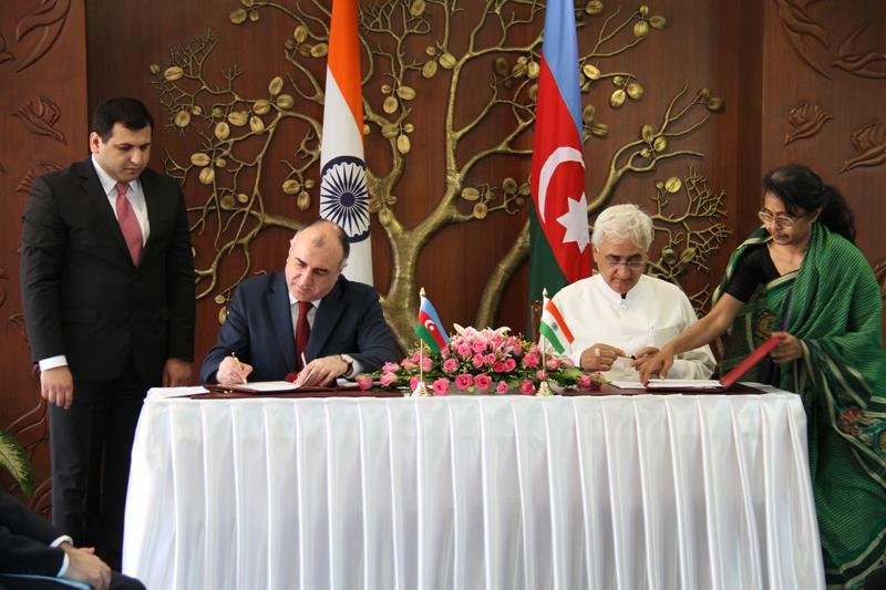 Индия придает важное значение развитию сотрудничества с Азербайджаном - МИД (ФОТО)