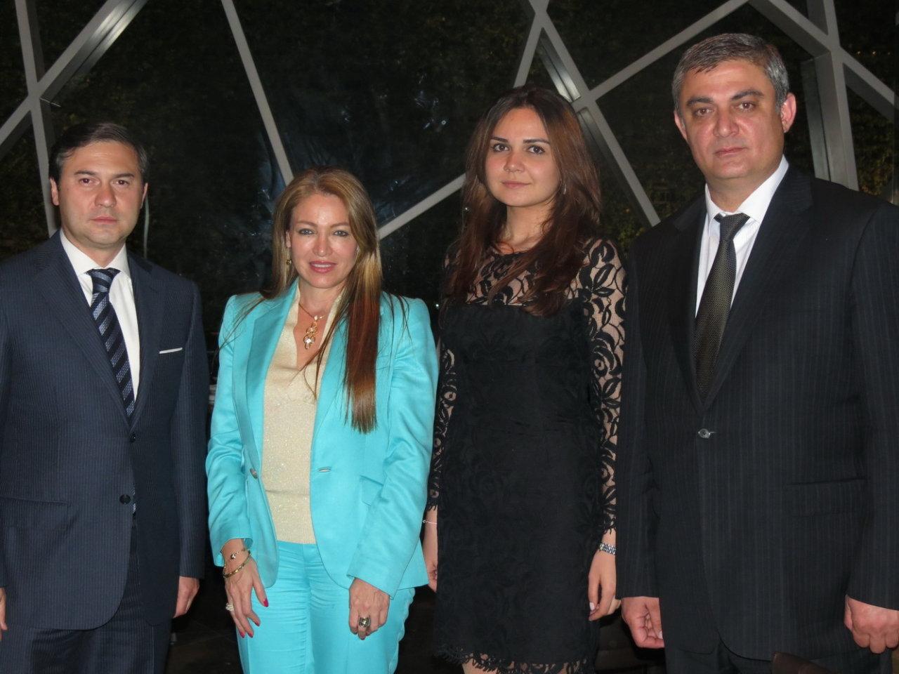 Фонд Гейдара Алиева и Сетевой фонд Колумбии по предотвращению детского насилия подписали соглашение о сотрудничестве (ФОТО)