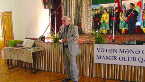 В Баку состоялся литературно-художественный вечер, посвященный 80-летию Мамеда Араза (фото)
