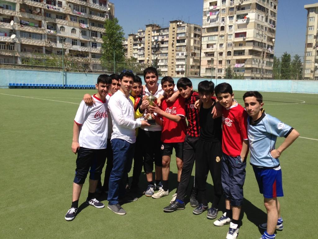 """В Азербайджане подведены итоги чемпионата по футболу среди школьников """"School Cup"""" (фото)"""
