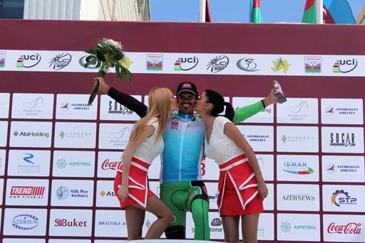 Определился победитель четвертого этапа велотура Tour d`Azerbaidjan (ФОТО)