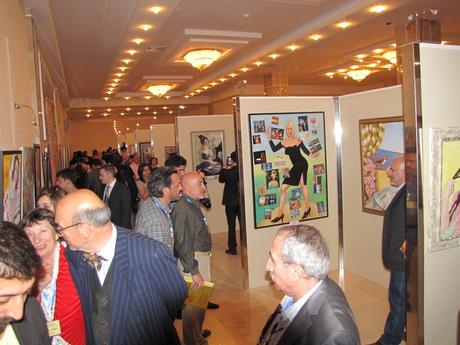 Лейла Алиева удостоена Почетного диплома III Международной выставки искусств в Габале (ФОТО)