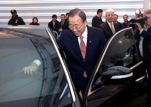 Какой автомобиль водит генсек ООН? (ФОТО)