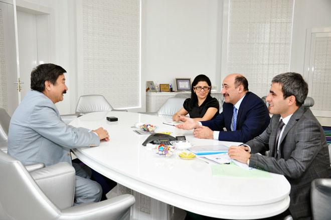 Состоялась встреча министра культуры и туризма Азербайджана и генсека ТЮРКСОЙ (фото)