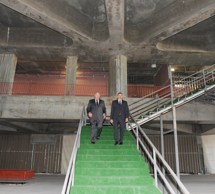 Президент Азербайджана принял участие в открытии Международного логистического центра  и ознакомился с новыми самолетами (ФОТО)