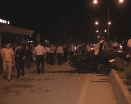 В Евлахе произошло тяжелое ДТП, двое погибших (ФОТО)