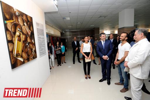 "YARAT! представил выставку работ в центре ""Службы ASAN"" (фото)"