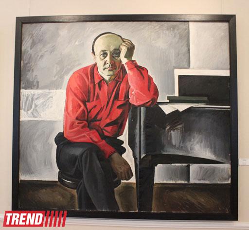 """В Баку открылась выставка """"Гейдар Алиев и современники иcкуcства"""" (фото)"""