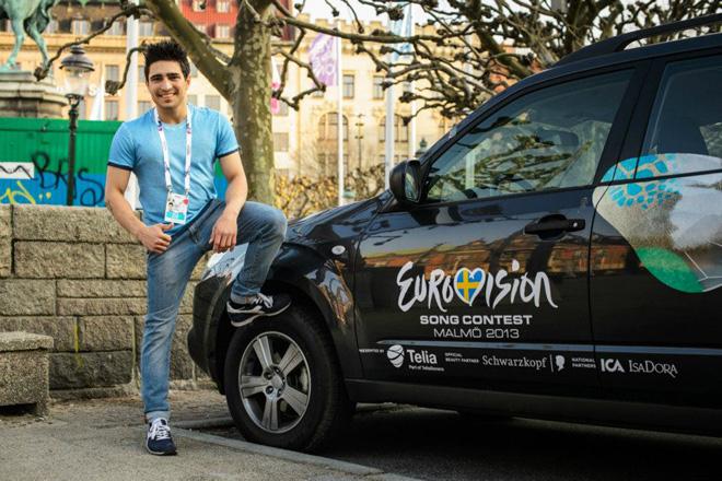 """Фарид Мамедов признан самым красивым мужчиной """"Евровидения 2013"""" (фото)"""