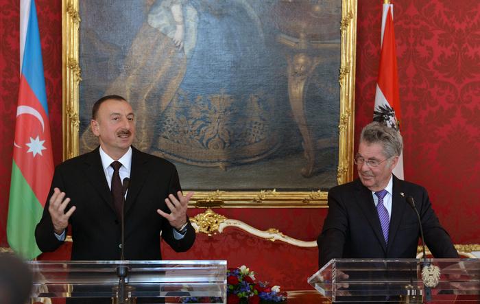 Президент Ильхам Алиев: С точки зрения инвестиций Австрия является очень привлекательной страной для азербайджанских компаний (ФОТО)