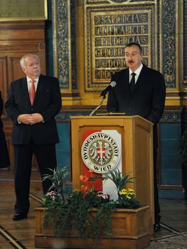 Президент Ильхам Алиев: Австрия и Азербайджан – настоящие друзья и партнеры (ФОТО)