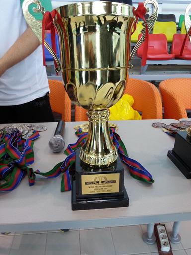 Сборная Азербайджана по водному поло выиграла международный турнир  (ФОТО)