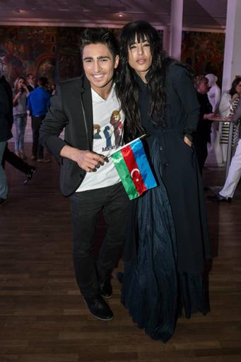 """""""Евровидение-2013"""" - Фарид Мамедов на красной дорожке (фото-видео)"""