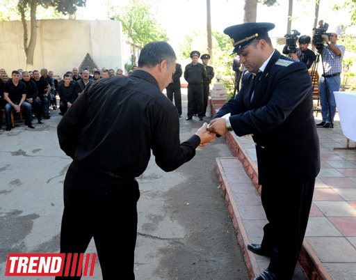 В Азербайджане продолжается исполнение Акта об амнистии (ФОТО)