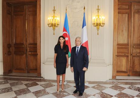 Первая леди Азербайджана провела ряд встреч в Национальной ассамблее Франции (ФОТО)