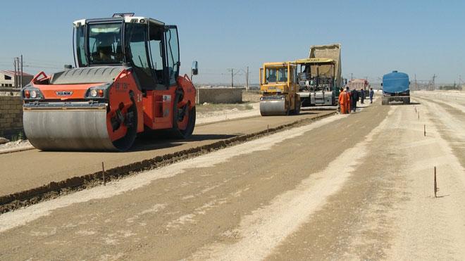 В 2013 году завершится строительство новой окружной автодороги в Баку (ФОТО)