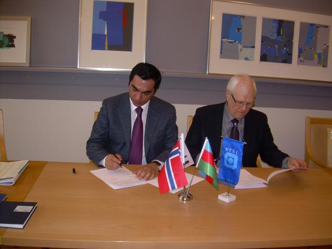 Бакинская высшая школа нефти наладила сотрудничество с двумя вузами в Норвегии (ФОТО)