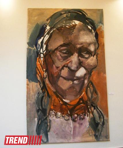 В Баку открылась выставка немецкой художницы Инги Шмидт (фото)