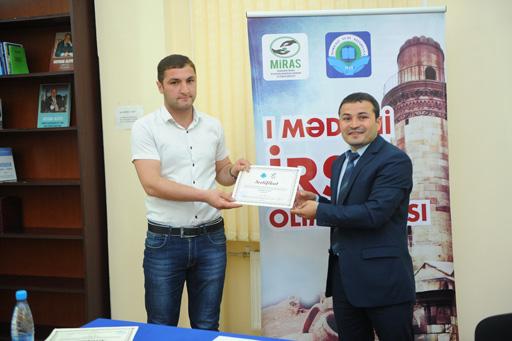 В Баку подведены итоги первой Олимпиады по культурному наследию (фото)