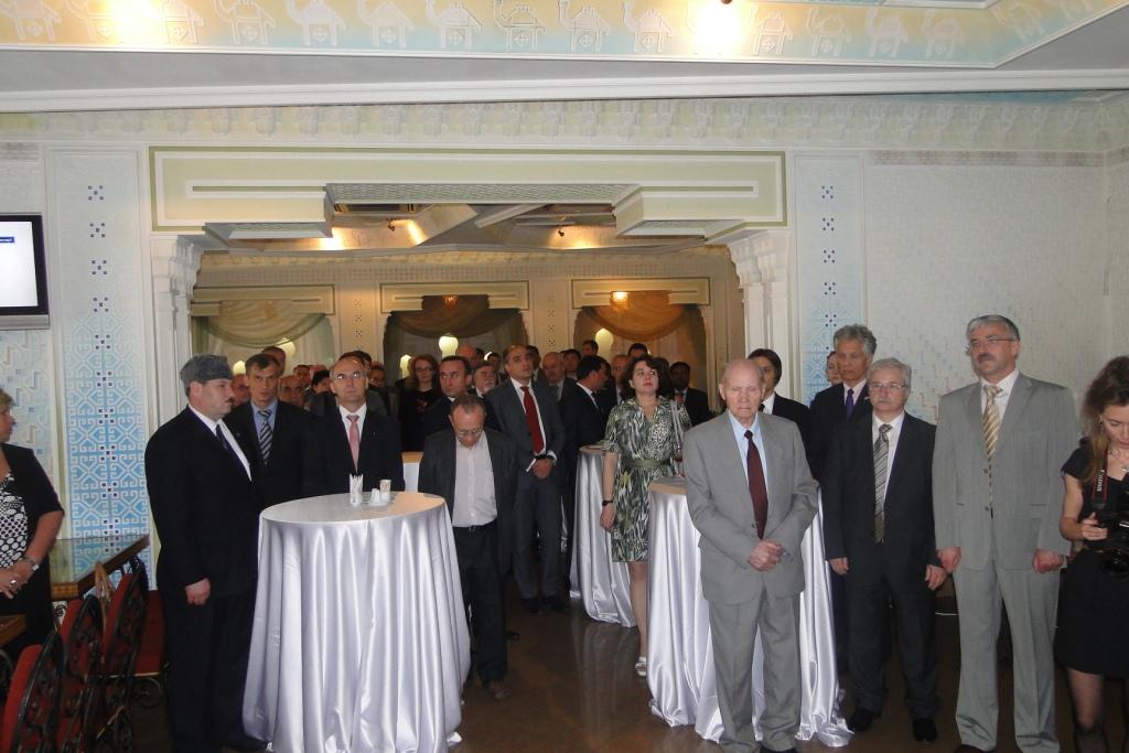 Генеральное консульство Азербайджана в Санкт-Петербурге провело официальный прием в честь Дня Республики (ФОТО)