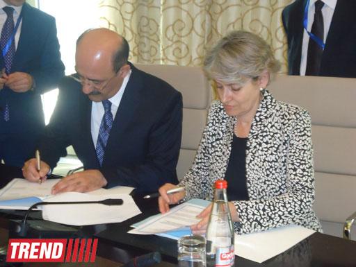 Азербайджан и ЮНЕСКО подписали соглашение (ФОТО)