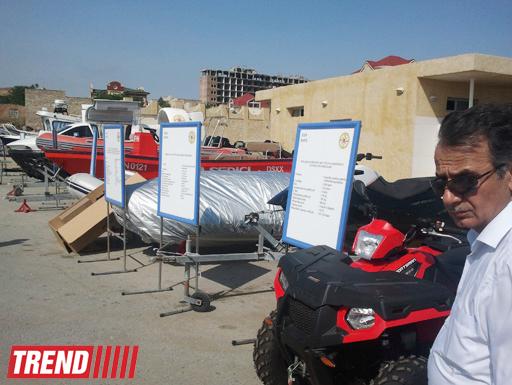 МЧС Азербайджана провело подготовку к открытию пляжного сезона (ФОТО)
