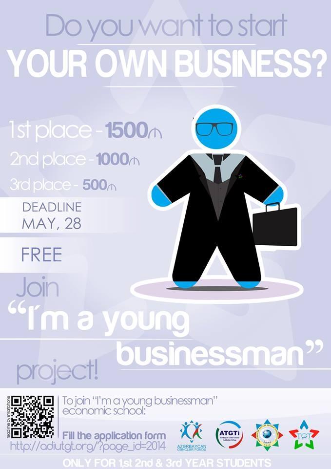 """""""I am a young businessman"""" layihəsinin ikinci mərhələsi reallaşdırıldı"""