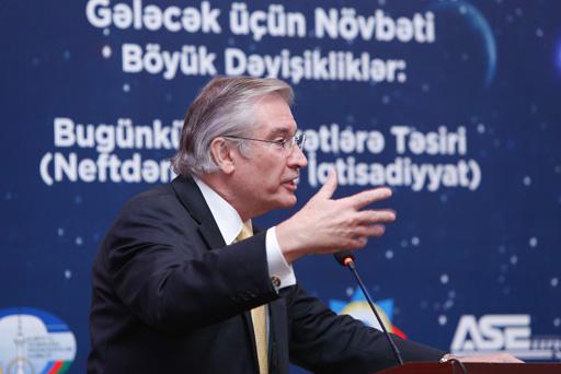 Azərbaycanın neft sonrası iqtisadiyyatı mövzusu müzakirə edilib (FOTO)