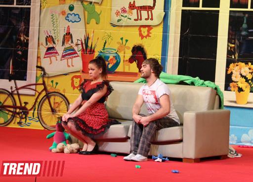 Малыш,  Карлсон и Фрекен Бок в Баку (фотосессия)