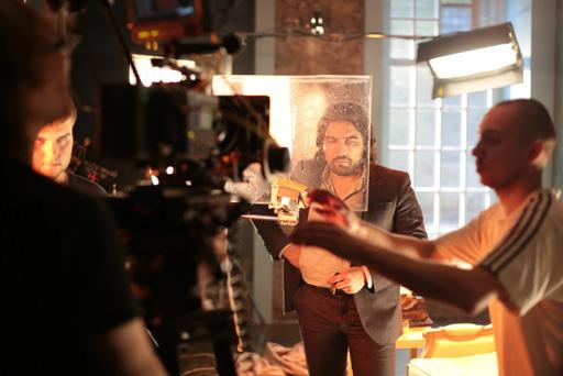 Азербайджанский режиссер снялся в проекте украинской певицы Gala в Москве (фото)