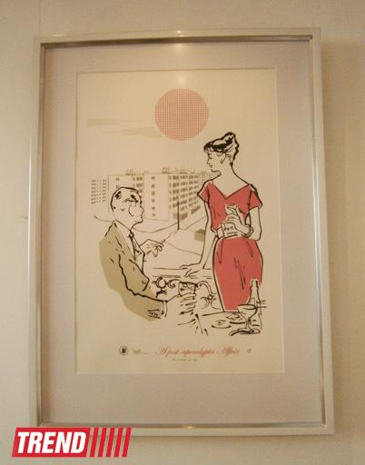 В Баку открылась выставка кубинского дизайнера, графического иллюстратора Хорхе Родригеса Диеса (фото)