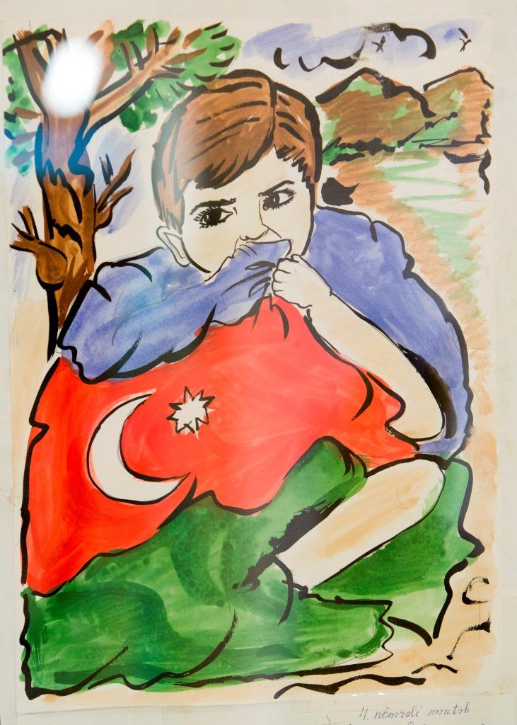 Rumıniyada Azərbaycan uşaqlarının rəsm sərgisinin açılış mərasimi keçirilib  (FOTO)