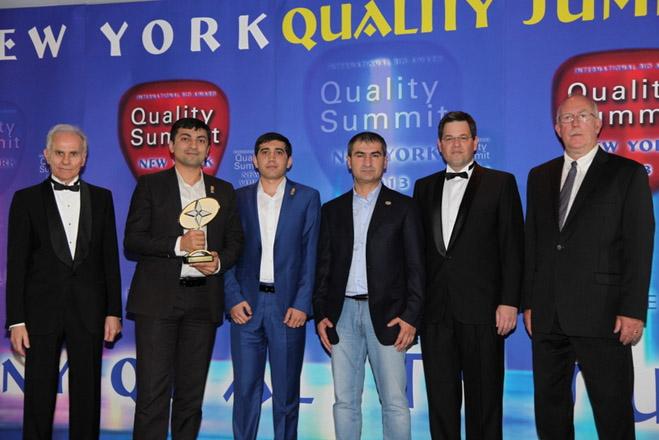 """Zaferoğlu İnşaat удостоена в США международной премии в номинации """"Дизайн и ремонт"""""""